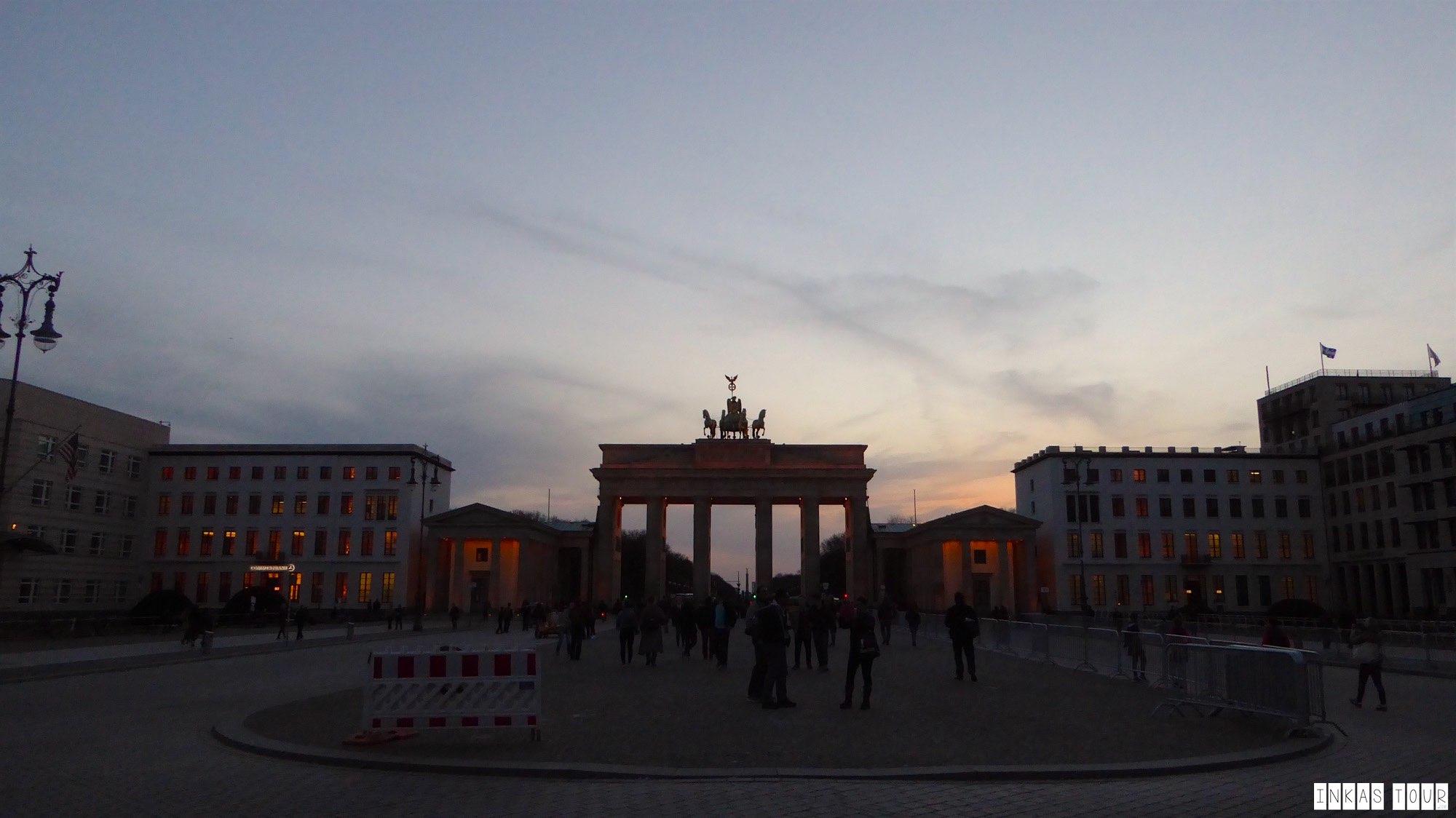 Night Photography in Berlin.