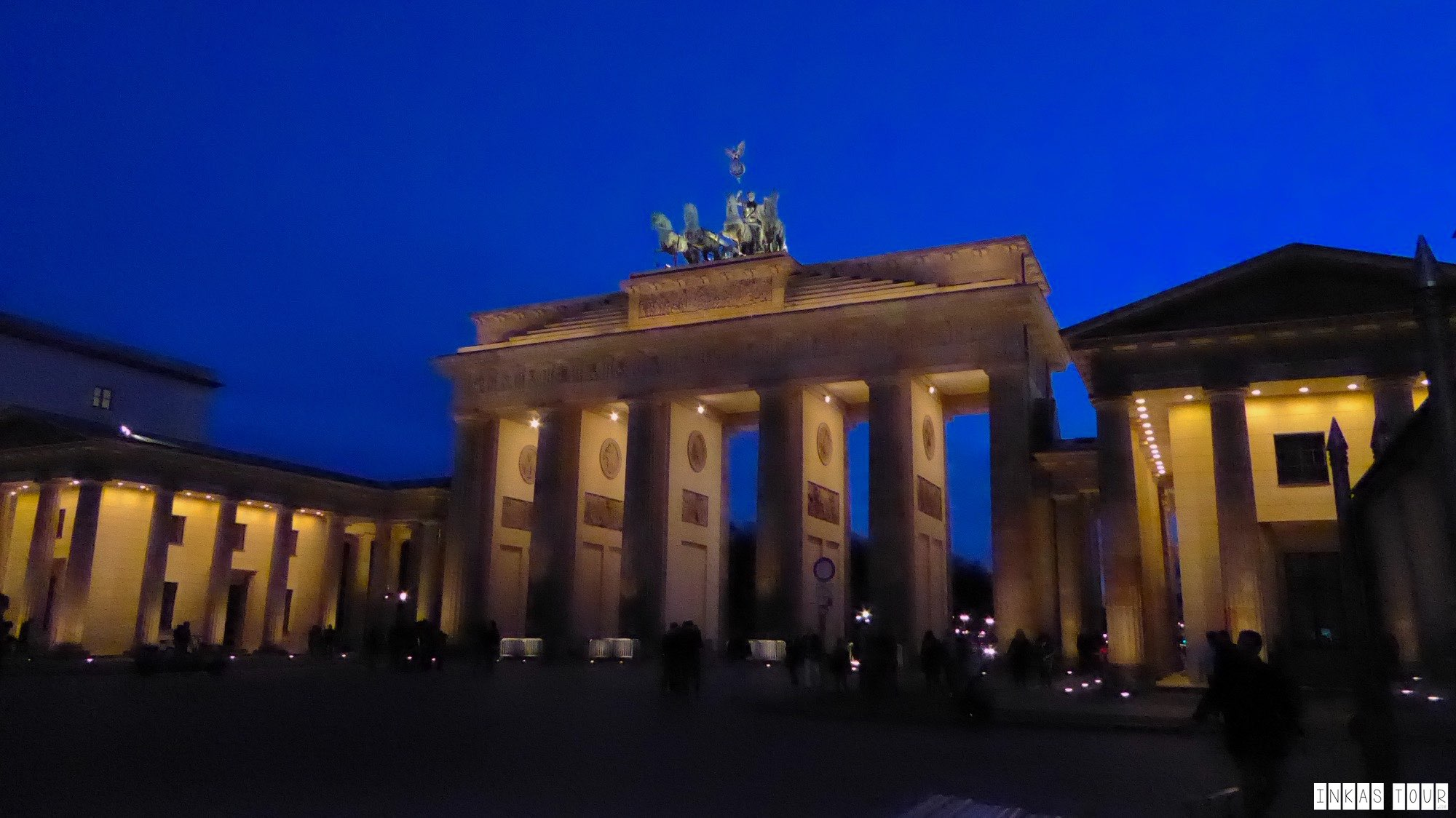 Night Photography in Berlin.