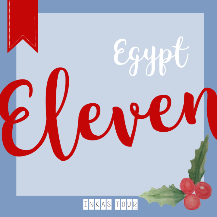 Christmas in Egypt and Kahk Cookies - December 11
