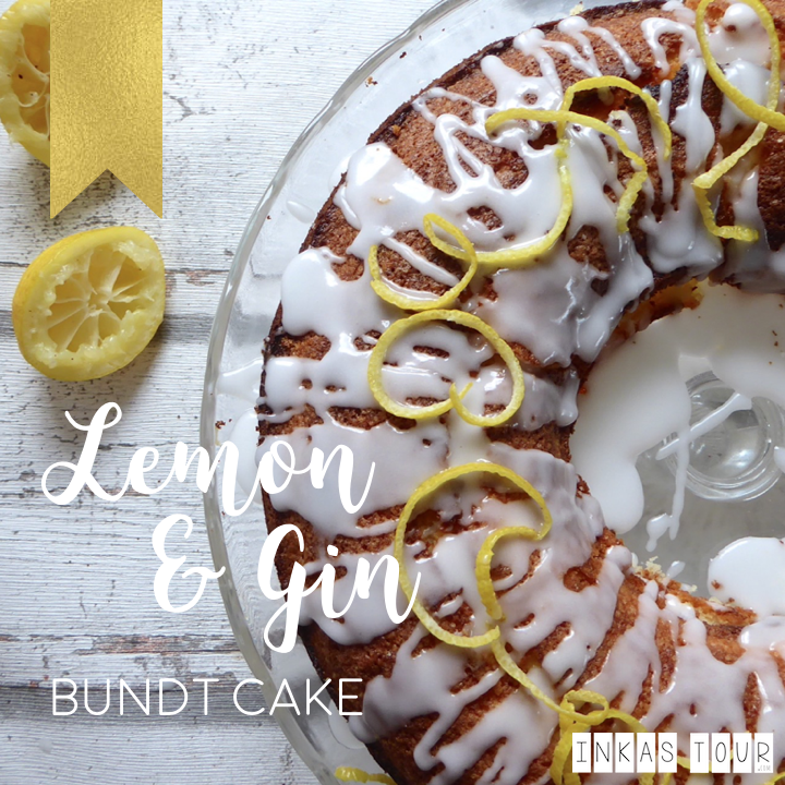 Gin and Lemon Bundt Cake