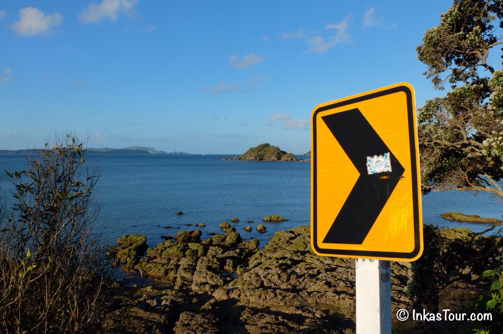 Caution Curve, Northland, New Zealand