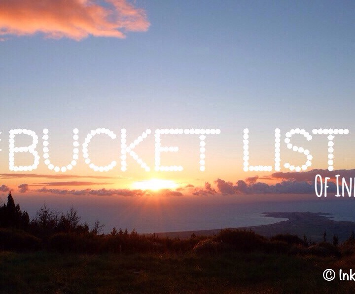 The Bucket List of Inka