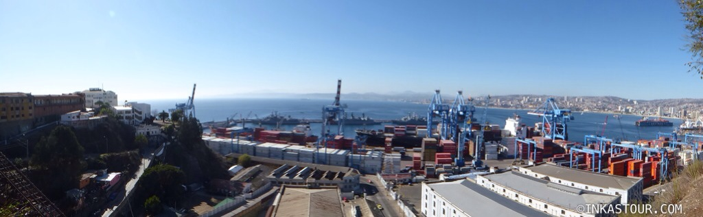 Valparaiso Harbour, Valparaiso, Chile