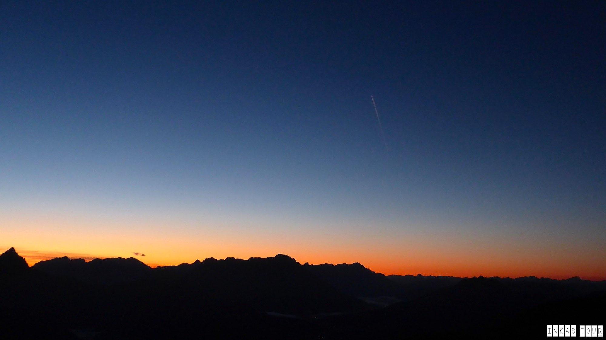 Sunrise Kitzbuhler Horn