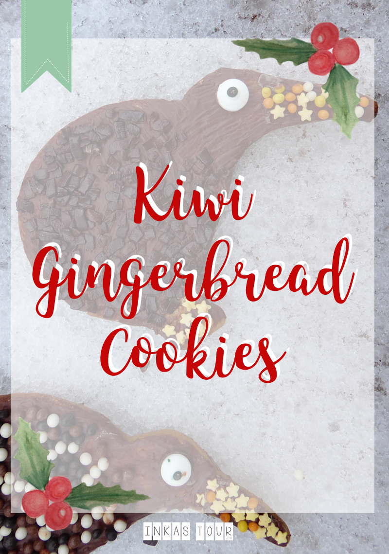 Kiwi Gingerbread Cookies Christmas Advents Calender Customs and Traditions Inkas Tour Travelblog Baking Blog Food around the World