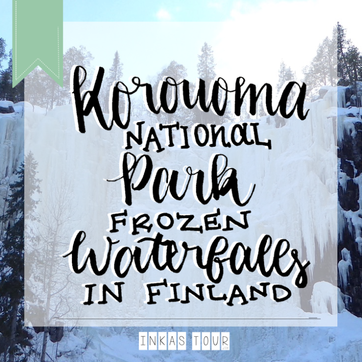 Korouoma National Reserve the Heaven of Frozen Waterfalls in Finland