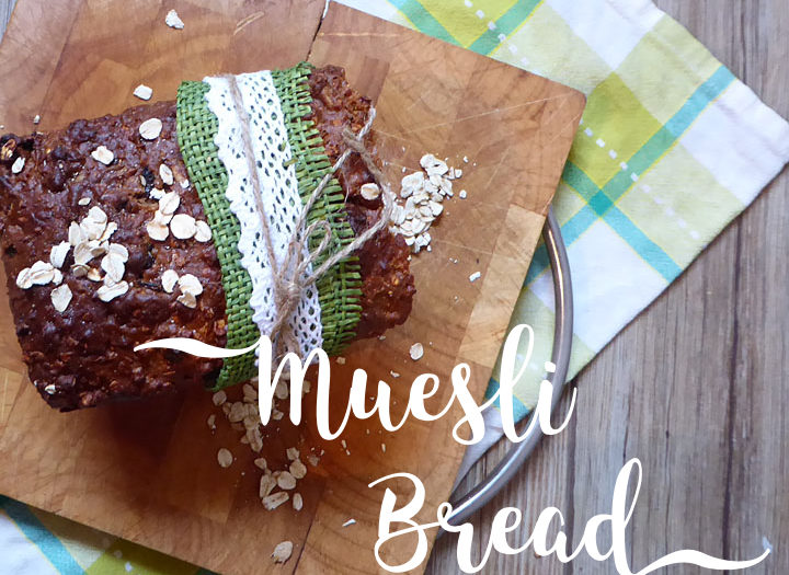 Muesli Bread for World Bread Day 2015