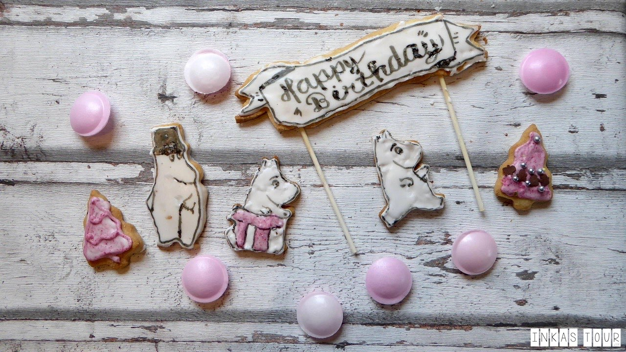 You should Bake this Moomin Sugar Cookie Recipe to get in the Mood of your next Finland Vacation - Inkas Tour Photography Salad around the World