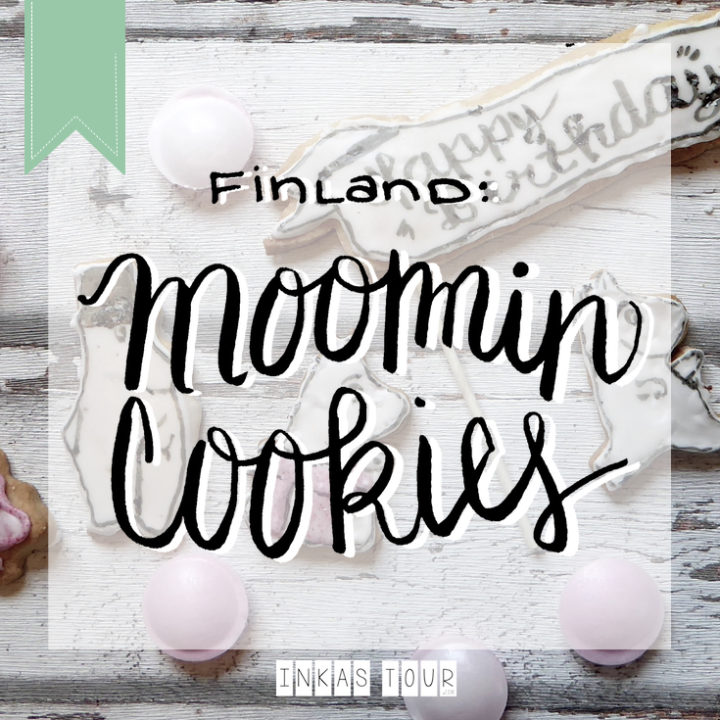 Finland Moomin Cookies - Sugar Cookie Recipe