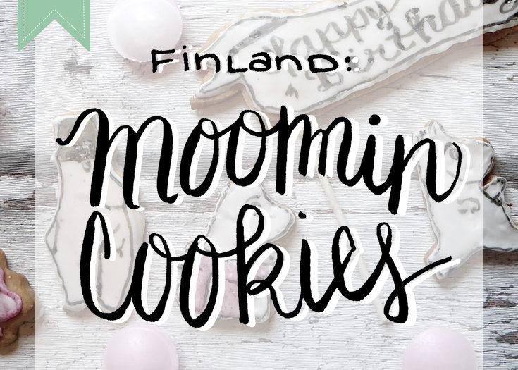 Finland Moomin Cookies - Sugar Cookie Recipe