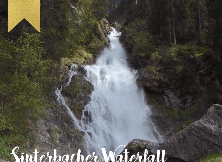 Hiking to the Sinterbacher Waterfall near Kitzbühel