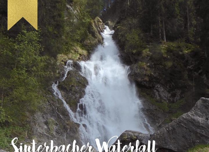 Hiking to the Sinterbacher Waterfall near Kitzbühel