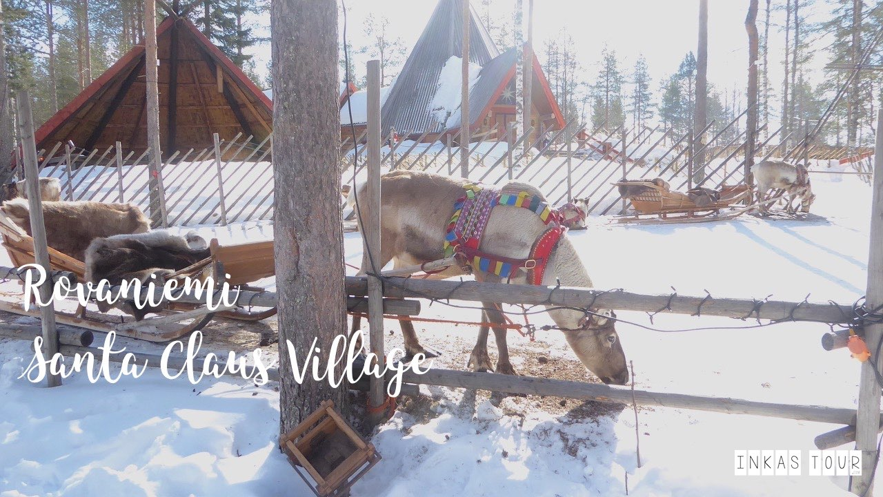 The Perfect Winter Itinerary for your Finland Vacation Santa Claus Village Husky Safari Rovaniemi Inkas Tour Photography Salad around the World Travelblog