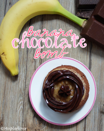 Banana Chocolate Bomb