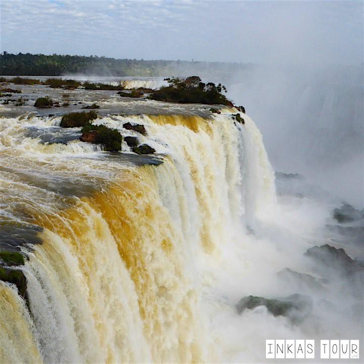 The Postcard Photos: Iguazu Falls in Brazil