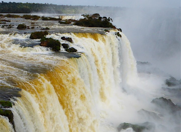 The Postcard Photos: Iguazu Falls in Brazil
