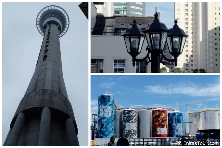 impressions auckland sky tower