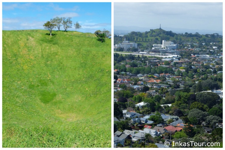 mpressions auckland A view from Mount Eden