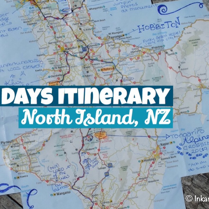 10 day Itinerary - North Island, New Zealand
