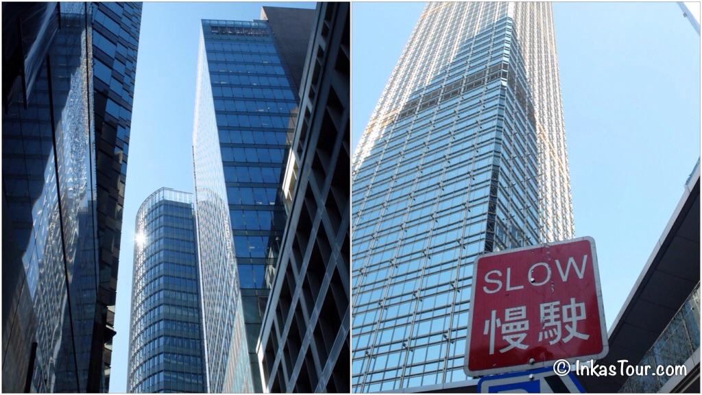 skyscrapers 8 hour layover in Hong Kong