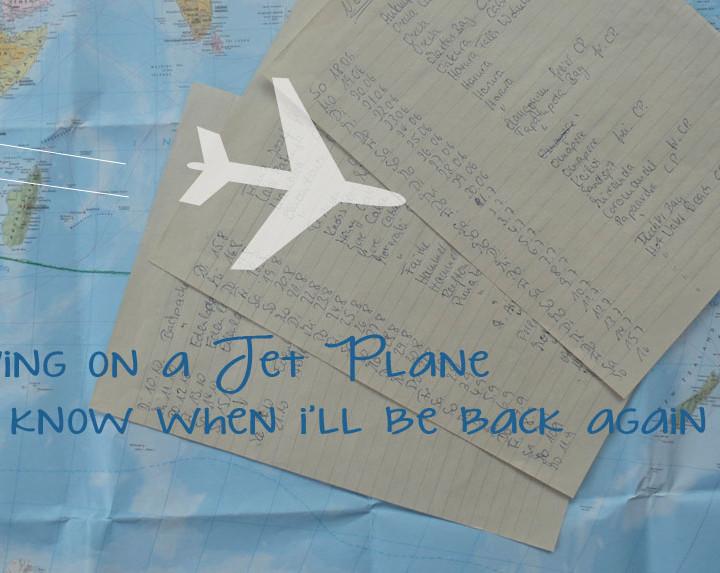 Off to New Zealand / Ab nach Neu Zealand