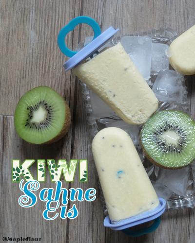 Kiwi Sahne Eis