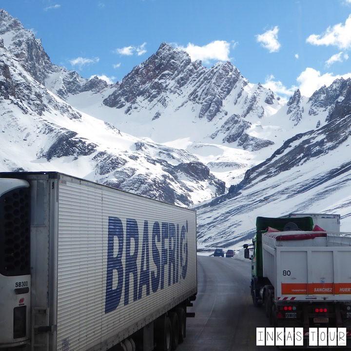 Paso Los Libertadores Crossing the Andes from Valparaiso to Mendoza