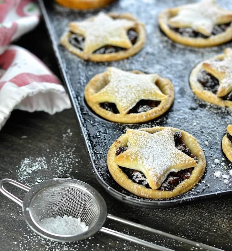 Vegan Mince Pies Advents Calendar around the World Inka Tour British Traditional Recipe