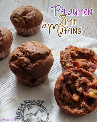 Plum Gingerbread Cinnamom Muffins