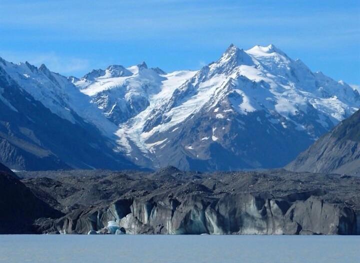 New Zealands Largest - The Tasman Glacier