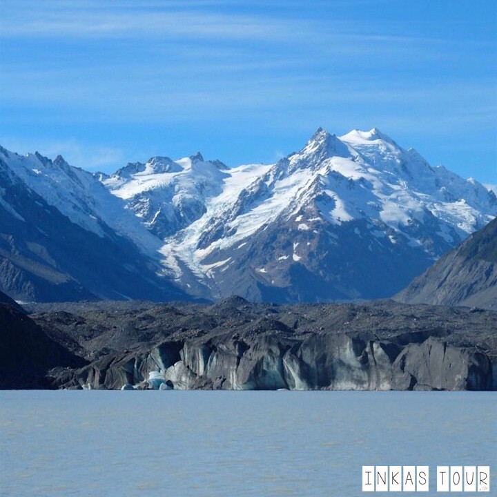 New Zealands Largest - The Tasman Glacier