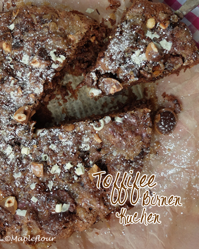 Toffifee Birnen Kuchen