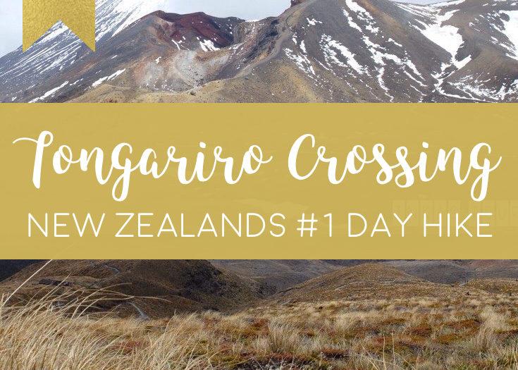 Tongariro Crossing : New Zealand Best Day Hike