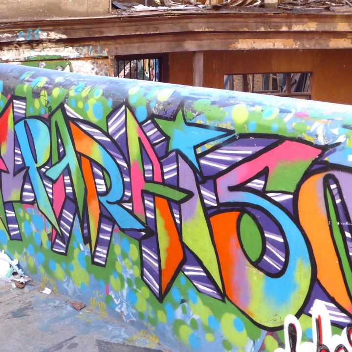 Valparaiso, Chile -  A grafitti covered City!